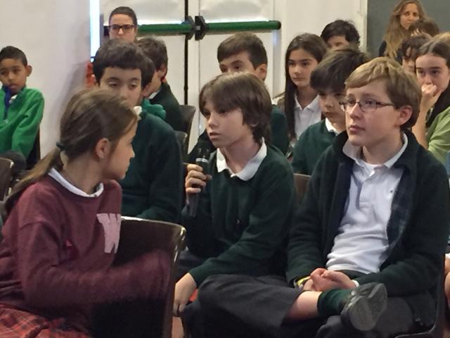 Hazerka intervient contre le harcèlement à l'école