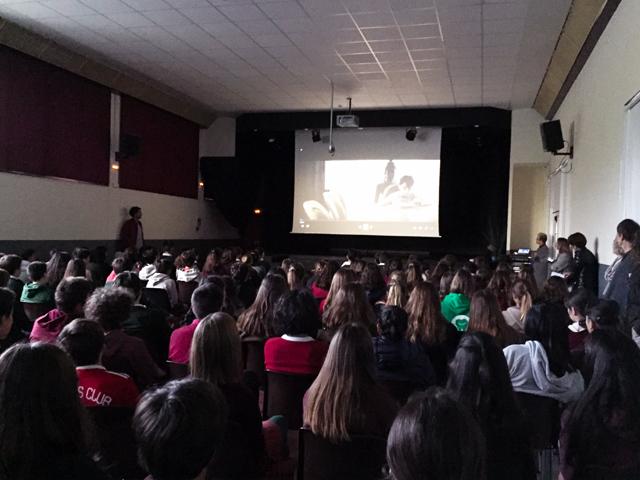 Hazerka conférence contre le harcèlement scolaire